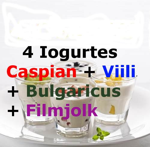 4 Iogurtes Infinitos – Caspian + Viili + Bulgaricus + Filmjolk Procurando Onde Comprar? Compre Aqui Só R$59,90 os 4 Juntos com Frete Grátis para Todo Brasil.